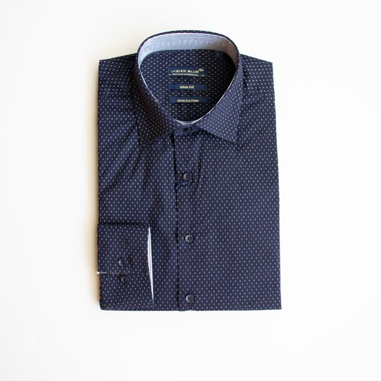 camisa azul underblue