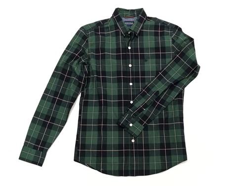 camisa verde cuadros dockers