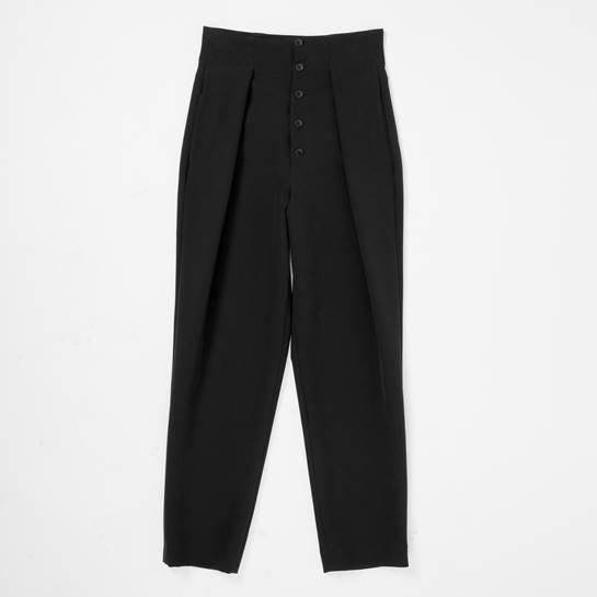 pantalón negro Etxart Panno