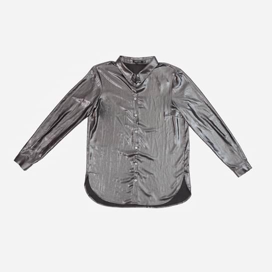 camisa metalizada Etxart Panno