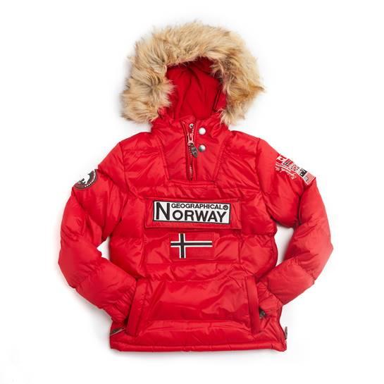 abrigo norway rojo