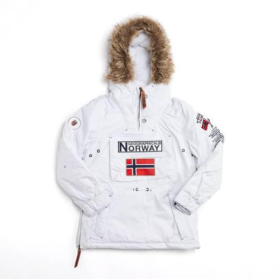 abrigo norway blanco