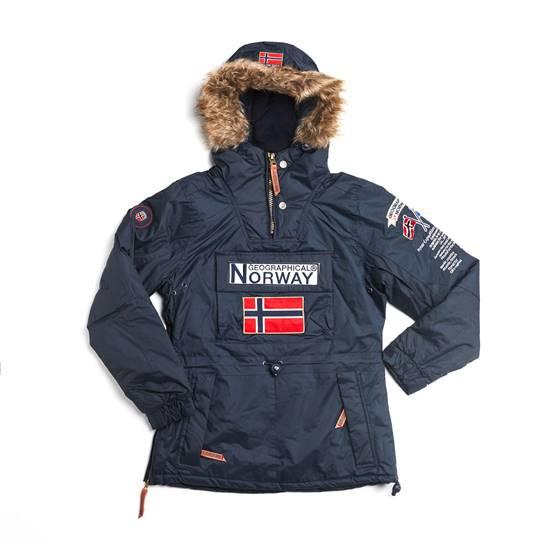 abrigo norway azul