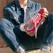 Zapatillas deportivas rojas Converse