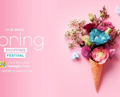 Spring shopping festival