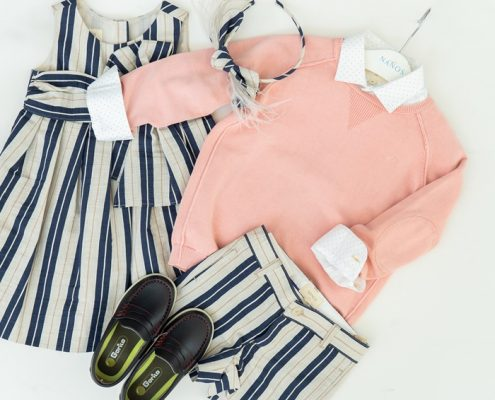 looks formales infantiles