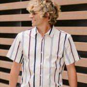 camisa rayas portada