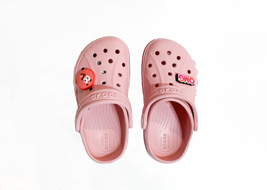 Zapatos rosa Crocs