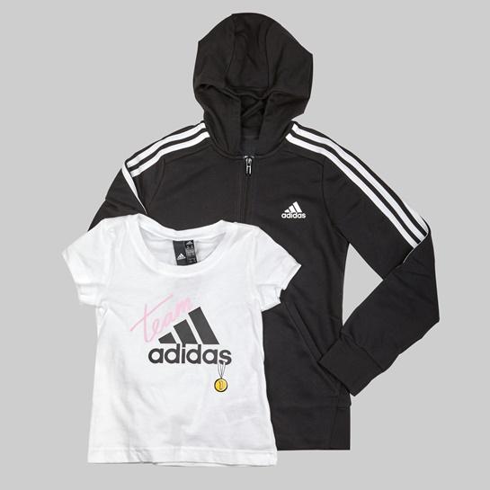 Sudadera y camiseta Adidas