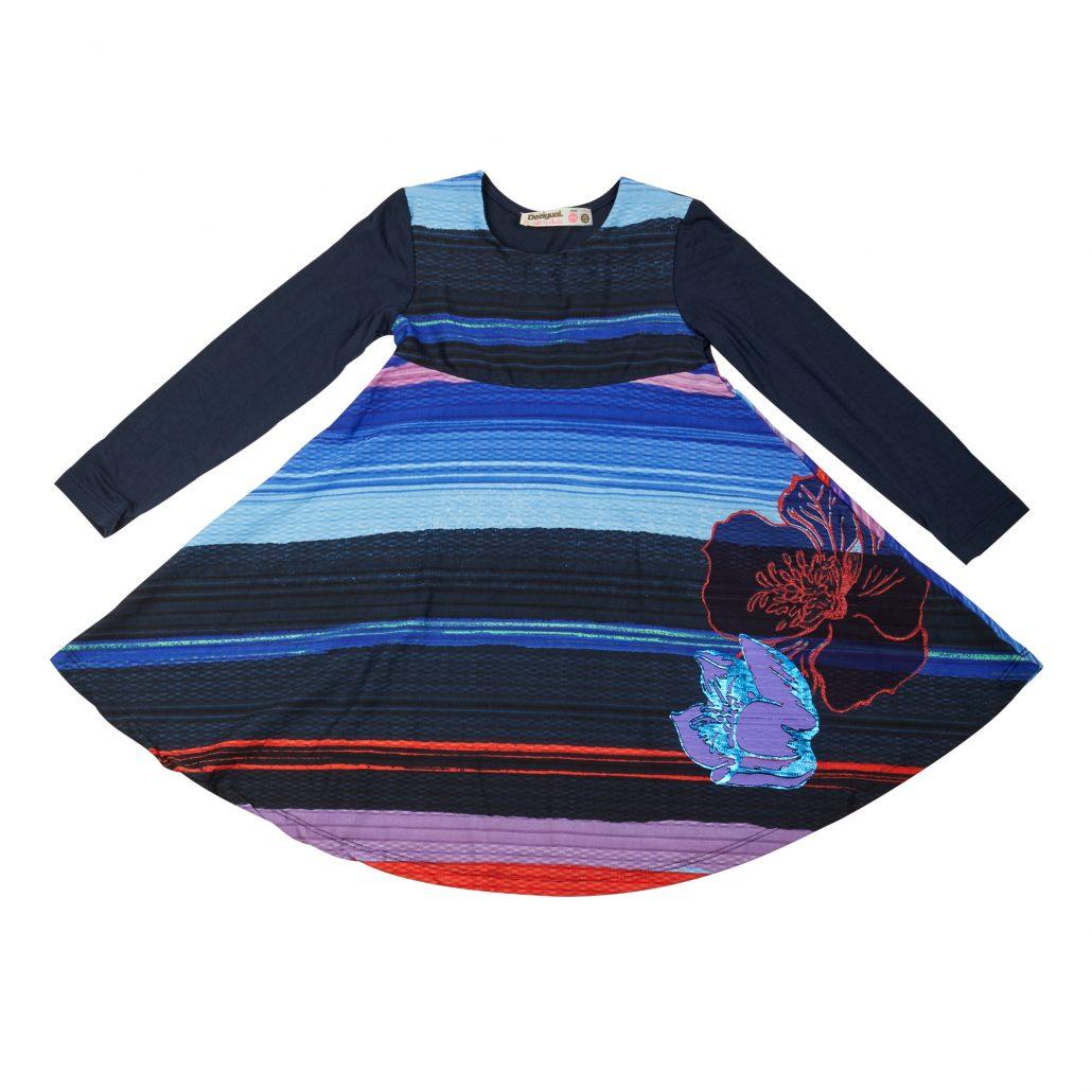 Vestido Desigual niña: precio original 39,95€ - precio outlet 27,96€