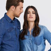 Portada denim Guess