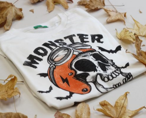 Camiseta monster Benetton
