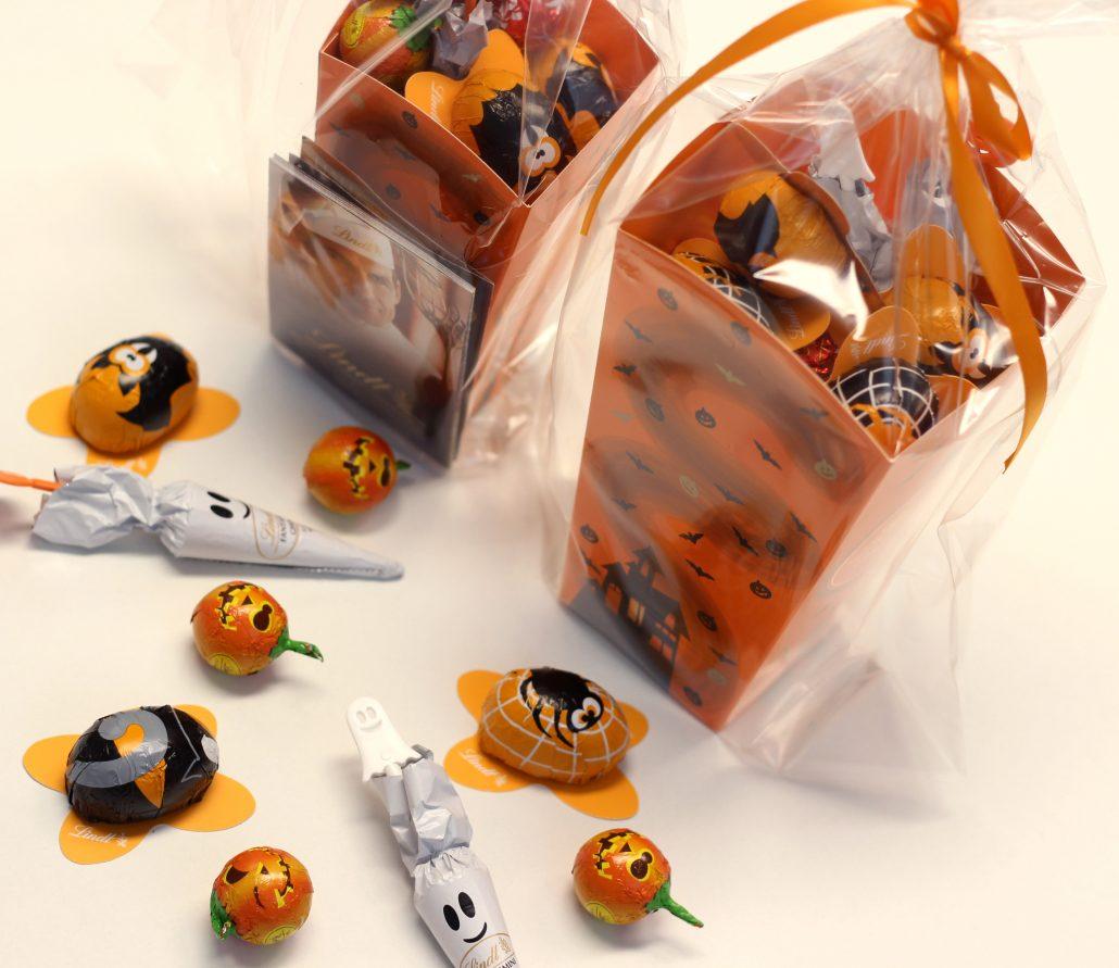 Bolsa de Halloween con chucherías