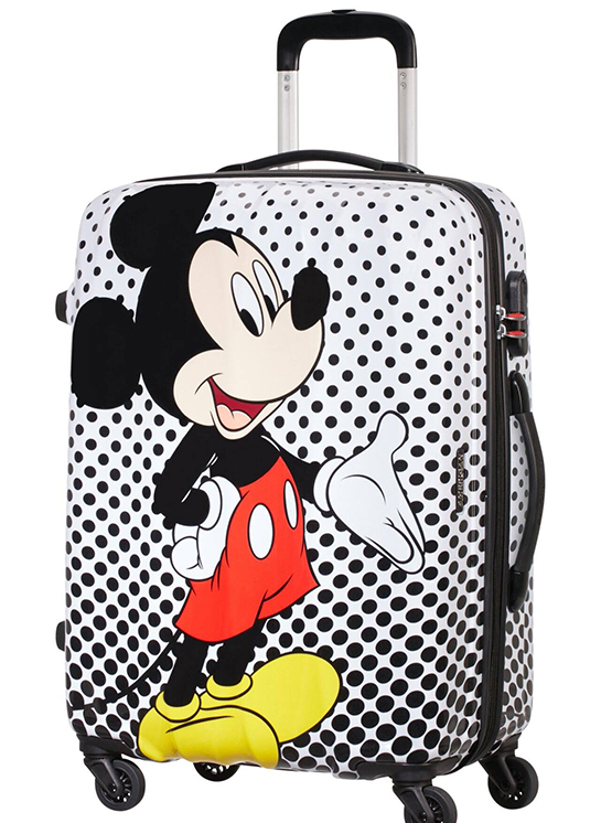 Maleta colección Mickey de Samsonite: precio original 109€ - precio outlet 54,50€