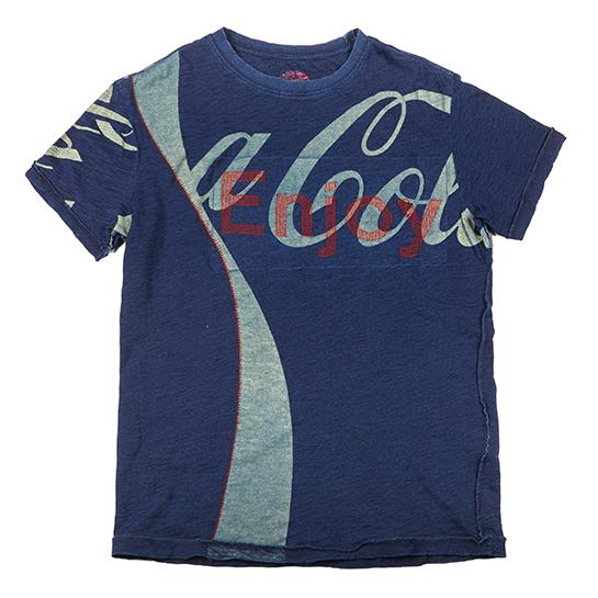 Camiseta chico coca cola grande
