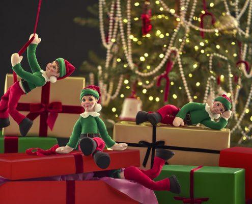 Portada Elfos con regalos
