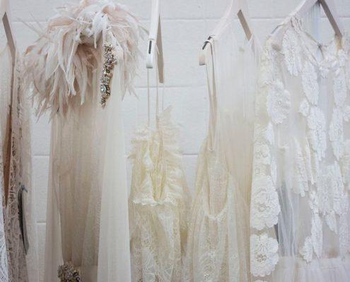 colección de vestido blanco