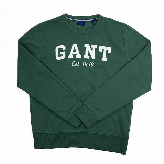 Sudadera verde de Gant
