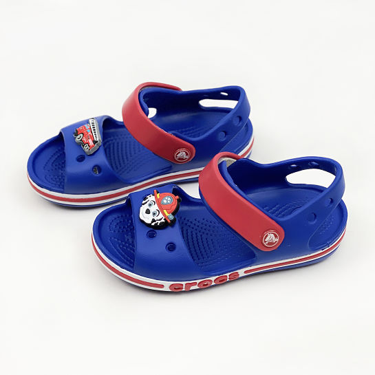Chanclas azules CROCS