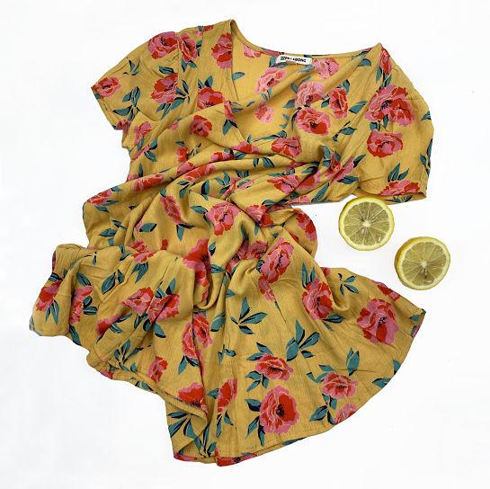 Vestido de flores de Element