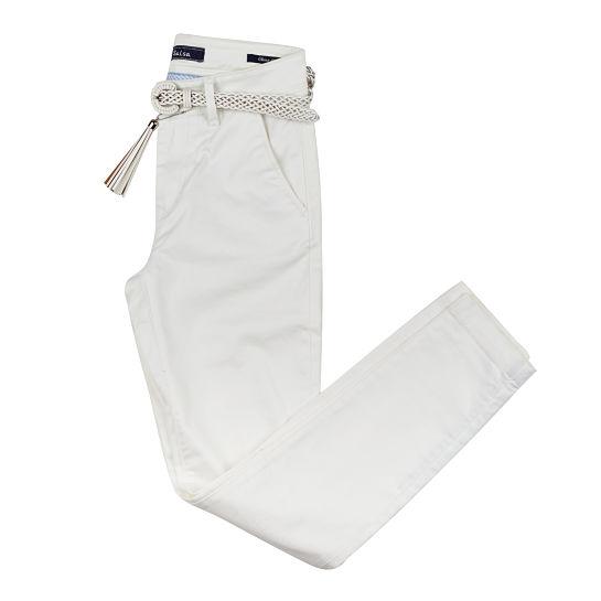 Pantalon blanco de Salsa