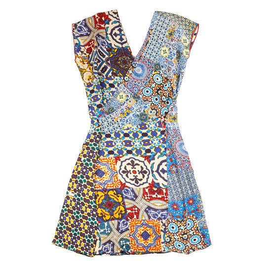 Vestido Mosaicos de Desigual