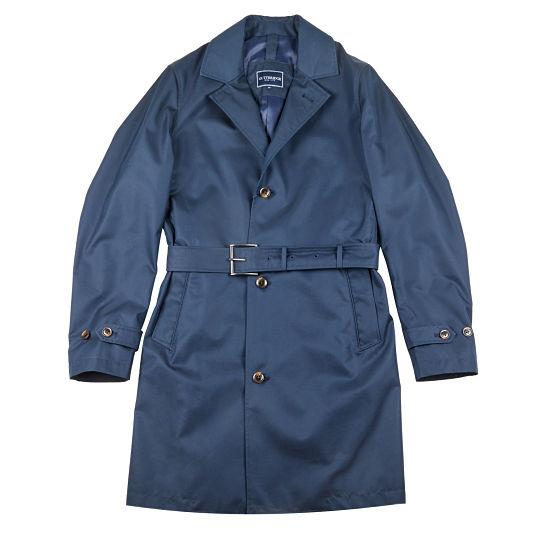 Gabardina azul de Gutteridge