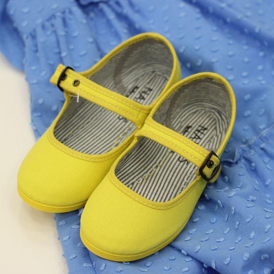 Mercedita amarilla de Nanos