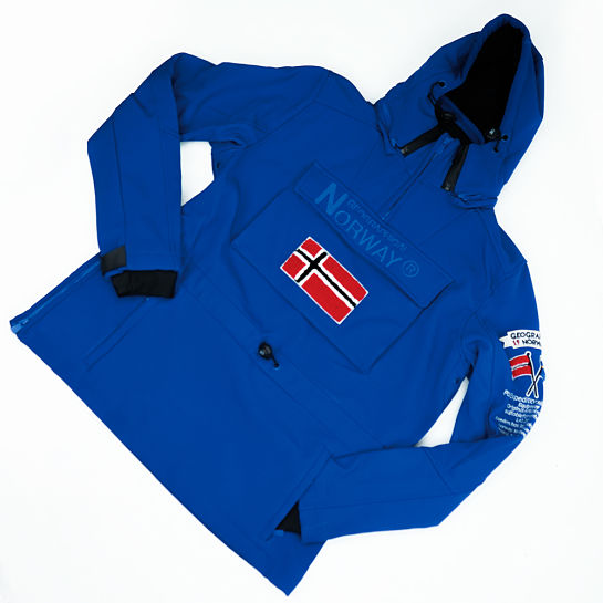 Impermeable de Geograhphical Norway