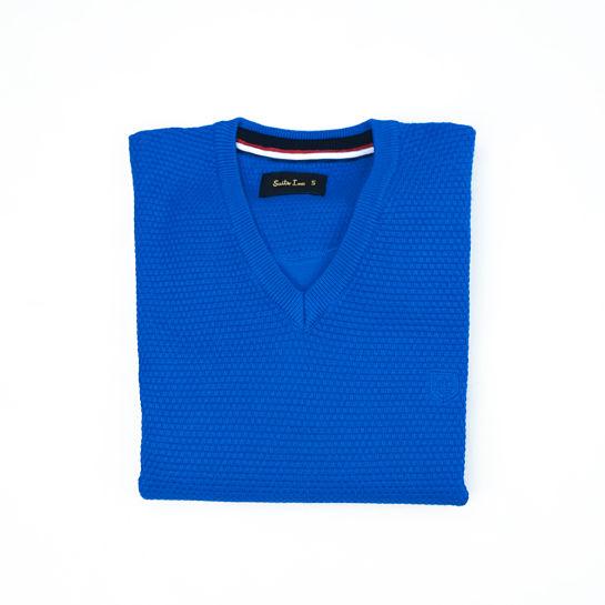 Jersey azul de Suits Inc