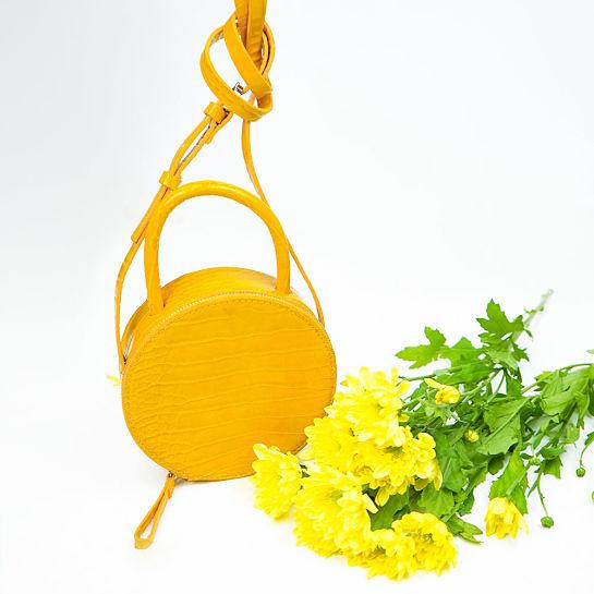 Bolso amarillo de Tempe