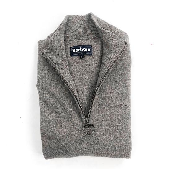 Jersey gris de Barbour
