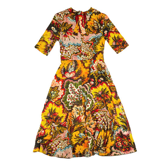 Vestido de Desigual x Lacroix