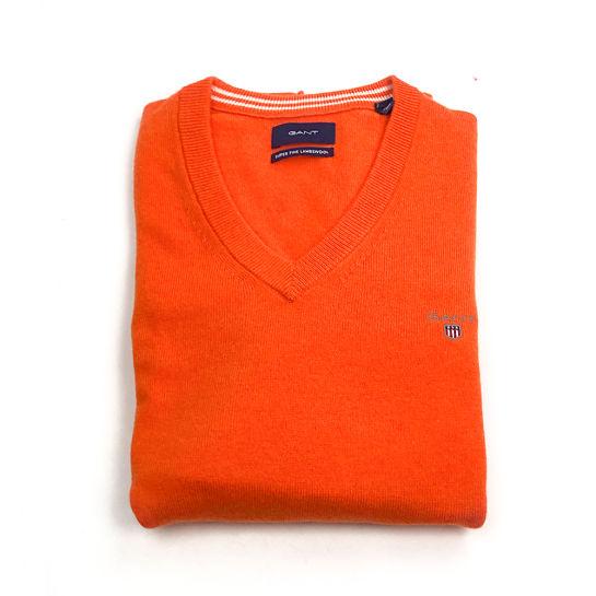 Jersey naranja de Gant