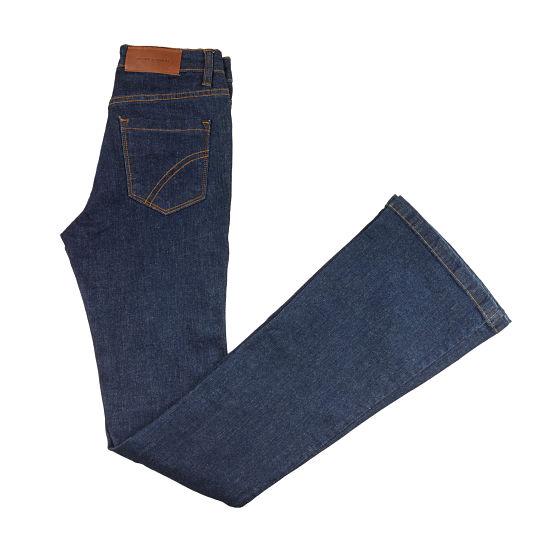 Jeans flare de Javier Simorra