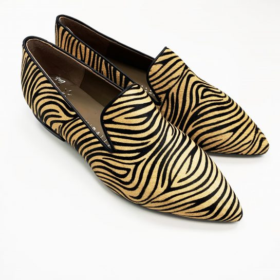 Mocasín Zebra