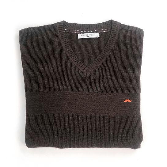 Jersey marrón de Núñez de Arenas