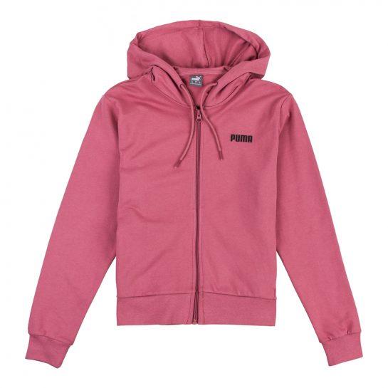 Sudadera rosa puma