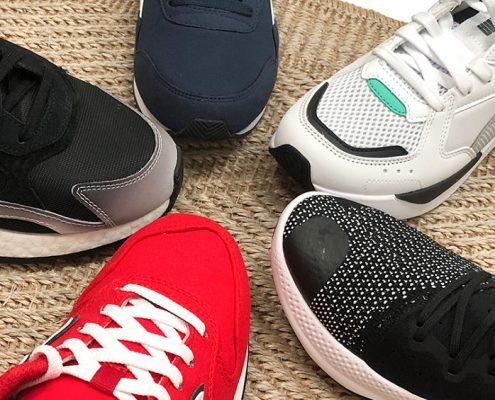 Bodegón sneakers