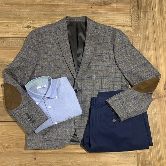 Americana - PO 15,99€ Camisa azul - PO 19,99€ - Fifty Outlets2