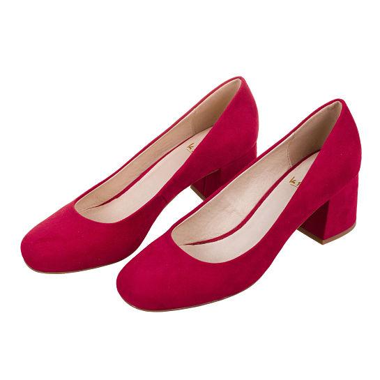 Zapato de tacón rojo de Krack
