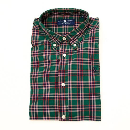 Camisa de cuadros Álvaro Moreno. Precio original 39,95€ Precio outlet 25,95€ Descuentos adicionales 19,95€