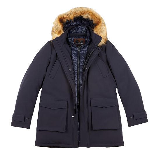Abrigo azul de Gutteridge