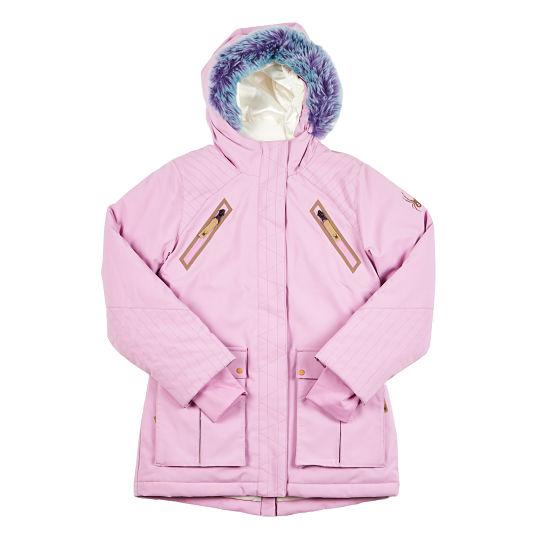 Abrigo rosa de M+